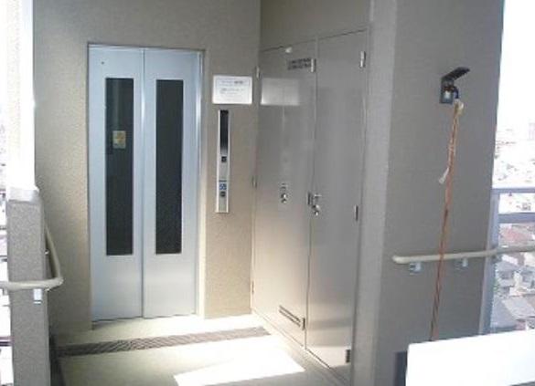 エレベターホールの画像