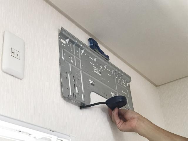 UR賃貸のエアコンの設置方法