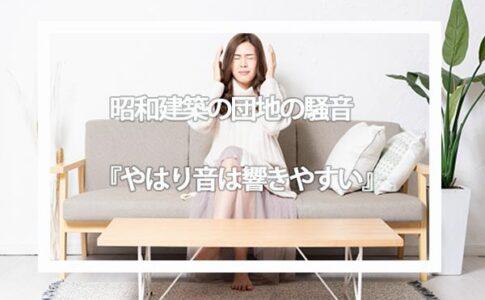 昭和築のUR賃貸住宅の団地に入居する時に注意したい『騒音問題』